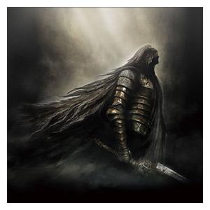 Неформатный постер Dark Souls. Размер: 60 х 60 см